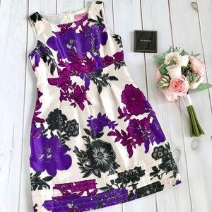 Eliza J Floral Print Sheath Dress